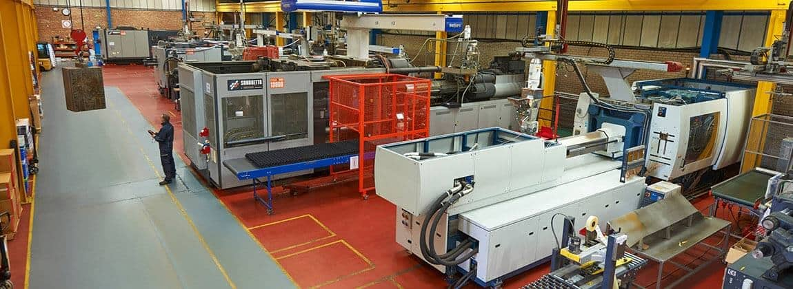 Injection Moulding Machines at Work