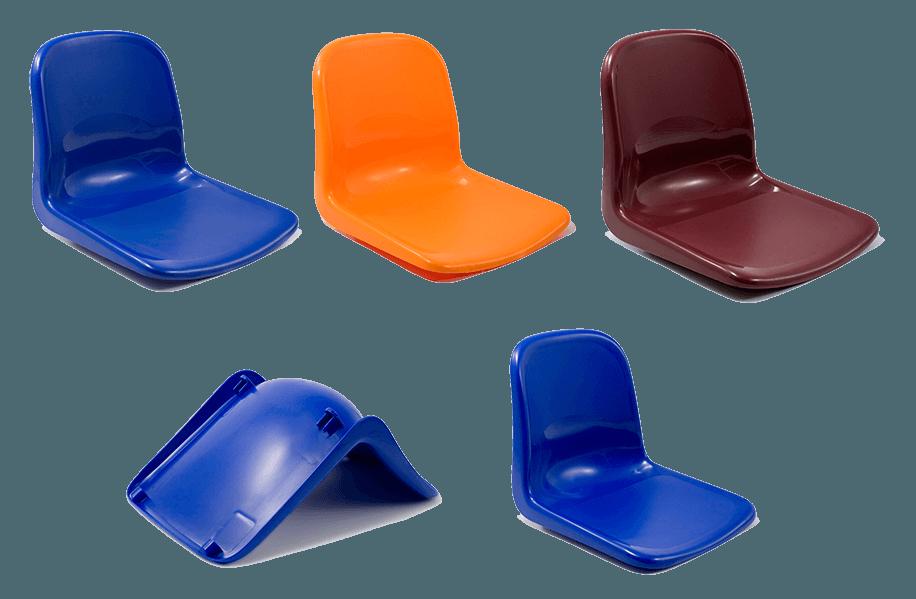 Experts in Plastic Stadium Seating