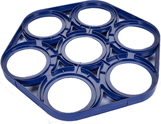 Plastic precision trays